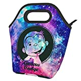Curious George Lunch Bag For Women, Men And Kids,Reusable Lunch Tote For Work And School