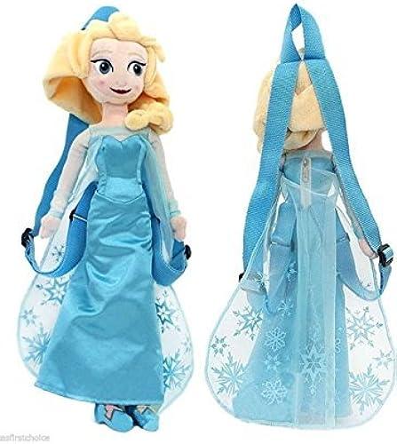 ¡no ser extrañado! Disney's Frozen Plush Elsa Backpack 17 with with with adjustable straps by Emma's Mode  Venta en línea de descuento de fábrica