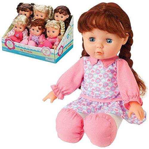 Toysmith Gigo Toy Soft Girl Doll 12''
