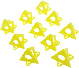 Pyramid Stands, ELECDON 10Pcs Mini Painting Stands for Canvas and Cabinet Door Risers, Pouring Paint Canvas Support Stands...