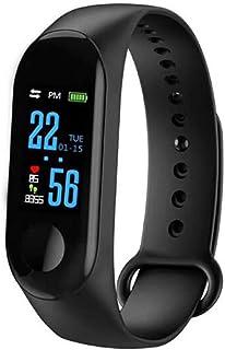 XNNDD Reloj de Pulsera Inteligente para Hombres y Mujeres con Reloj Bluetooth Reloj Remoto Cámara Frecuencia cardíaca Presión Arterial Sueño Monitorización Podómetro con Ip67 Impermeable