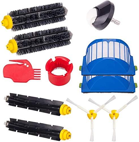 YAJIWU Piezas de repuesto H12 filtro y bolsa de filtro de polvo para Philips Fit para Electrolux Robot Aspiradora Accesorios (color: HXL2024) (color: Hcy 6000)