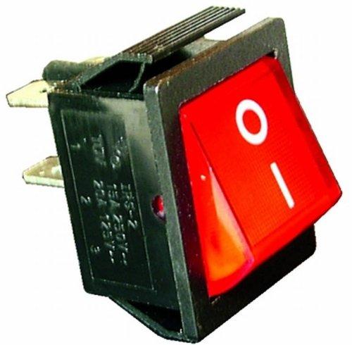 Vs Electronic 300013 Interruptor basculante, RS-201-1A3, 2 polos, 1 x encendido