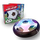 JUGUETECNIC │ Balón de Fútbol Flotante Hoverball con Luces | Deslizante con Espuma para Jugar Dentro o Fuera │...