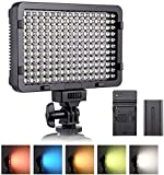 Luce Fotografica a LED ESDDI, Luce Video, 176 LED Dimmerabili Super Luminosi 3200-5600K, 5...