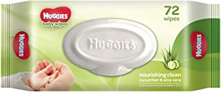 Buy Huggies Baby Wipes, Cucumber & Aloe, 72 Count Online at Low Prices in India - Amazon.in