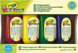 8 Pennarelli Mini Kids Punta Arrotondata Crayola