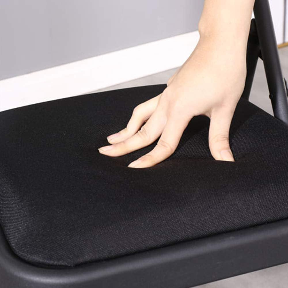 Chaise de Bureau Chaise de Salle à Manger Chaise d'ordinateur Chaise Pliante Ménage Salon Salle à Manger Chaise Pliante Chaise arrière Chaise Pliante portable-81 × 40 × 45cm B