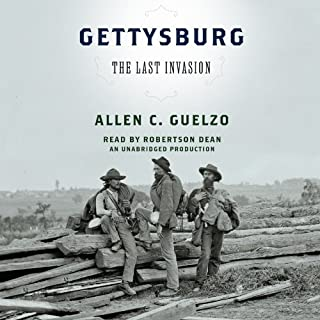 Gettysburg: The Last Invasion audiobook cover art