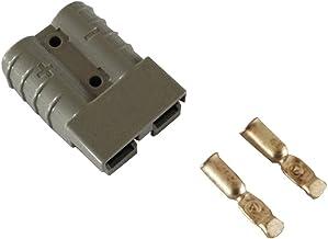 ILS/ /2/Unidades 50/A DC12//24/V Anderson Style Conector Anderson Power Conector 4/x Pinzas Amarillo