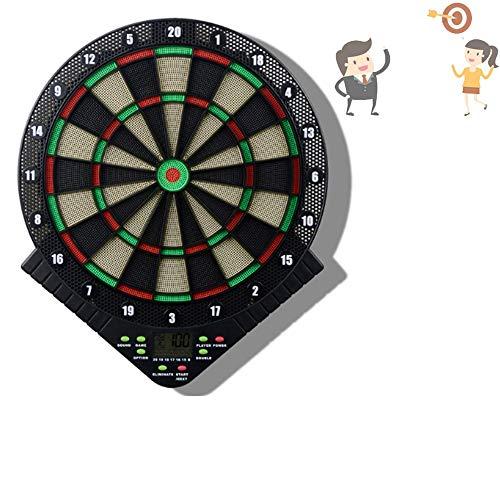 governingsoldiers Elektronische Dartscheibe,Best Sporting Dart Starter Set,6 Dartpfeile Abwurflinie,Dartspiel Starterset Bullet,GroßEs Dart Turnier Set