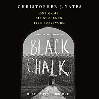 Black Chalk audiobook cover art