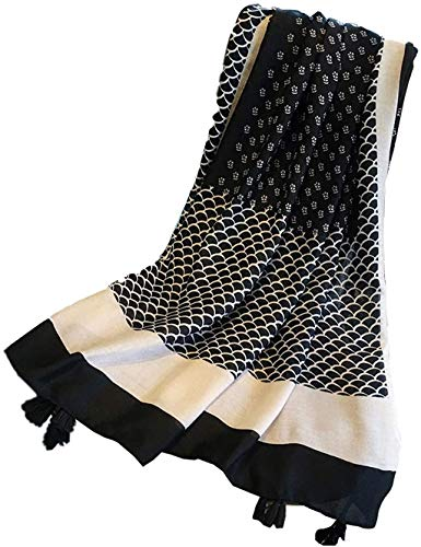 K-Elewon Women Winter Leopard Fashion Scarves Cotton Scarf Shawls And Wraps