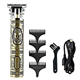 Haartrimmer, Trim Rasierer Haarschneider Electric T Blade Outliner Trimmer 0 mm USB Haartrimmer...