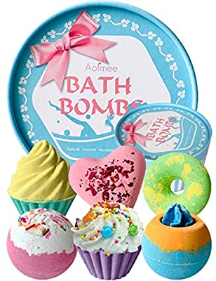 Aofmee Bath Bombs Gift