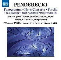 Fonogrammi/Horn Concerto/Partita/Awakening of Jaco
