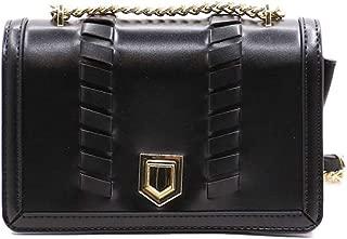 NOBASIC FLAP BAG FOR WOMEN, BLACK