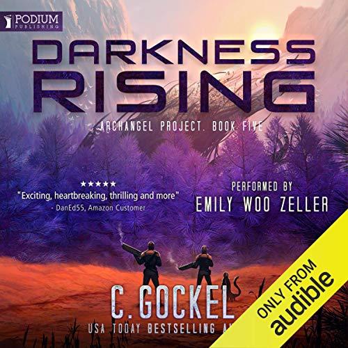 Darkness Rising audiobook cover art