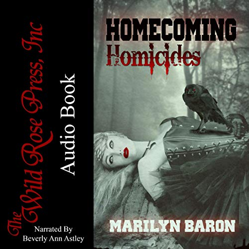 Homecoming Homicides audiobook cover art