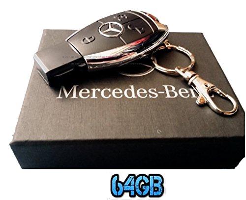 Sport auto 64 GB telecomando chiave USB Flash Drive/pen drive/Udisk. Venduto in confezione regalo