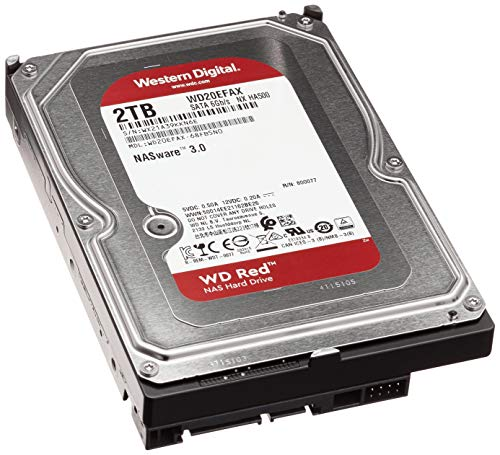 HDD WD NAS 3.5 2TB 5400RPM 256MB SATA3 RED