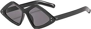 ZEZKT - gafas de sol polarizadas para hombre y mujer gafas de sol ligeras de moda irregular unisex sunglasses moda casual elegante glasses