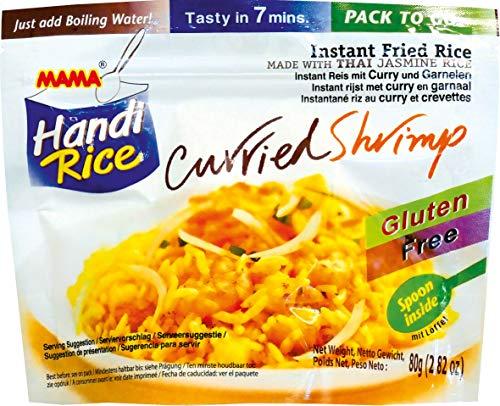 MAMA Arroz instantáneo con camarones al curry 10x80gr