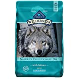 Blue Buffalo Wilderness High Protein, Natural Adult Large Breed Dry Dog Food, Salmon 24-lb