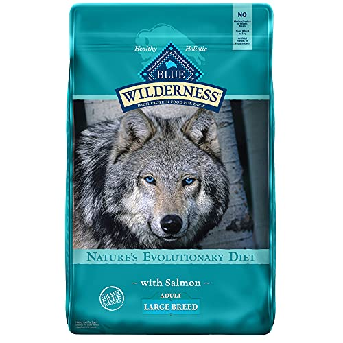 Blue Buffalo Wilderness High Protein Grain Free, Natural Adult Large Breed Dry Dog Food