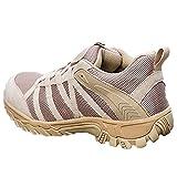 Botas De Desierto De Corte Bajo Al Aire Libre Hombres Trekking Zapatos Transpirables Botas Tácticas De Combate Militar Verano Ligero Zapatos De Mujer De Montañismo para Caminar,Yellow-36