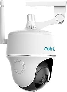 1080p HD Solar/Rechargeable Battery Camera Wireless Outdoor Indoor Home Security IP Camera, Pan Tilt, Starlight Night Visi...