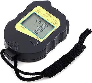 CXQWAN Multifunktionell elektronisk stoppur, timer spår och fältlöpning bord domare tränare tävlingsbord