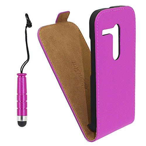 ebestStar - Funda Compatible con Motorola Moto G, XT1032 Carcasa Ventana Vista...