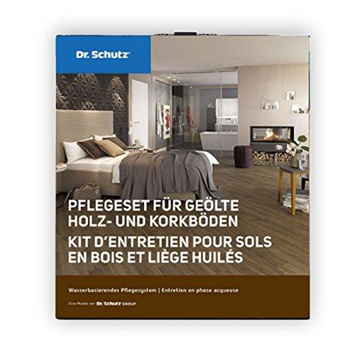 Dr.Schutz Pflegeset für geölte Holz-und Korkböden(Ersparnis gegenüber Einzelkauf ca. 11,80 Euro)
