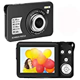 30 MP Digital Camera HD Mini Pocket Camera Camera 2.7 Inch LCD Screen Camera with 8X Digital Zoom Compact Cameras for Adult, Kids, Beginners