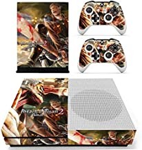 Calantha & Partner Xbox One S Skin Set Vinyl Decal Skin Stickers Protective for Xbox One S Console Kinect 2 Controllers - Giant people anime