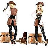 Piratas del Caribe de Halloween Trajes del Vestido de Maquillaje Juego de Roles Ropa MJJ9/29