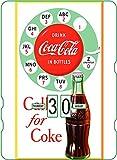 Calendario perpetuo Coca-Cola: publicidad Vintage 'Call for Coke '