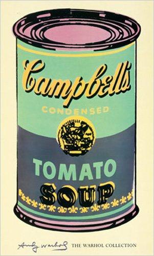empireposter Warhol, Andy - Campbell's Soup II - Kunstdruck Artprint Gemälde Campbell Tomatensuppen-Dose 61x101cm
