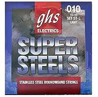 GHS (ジーエイチエス) エレキギター弦 ST-L SUPER STEELS - Light
