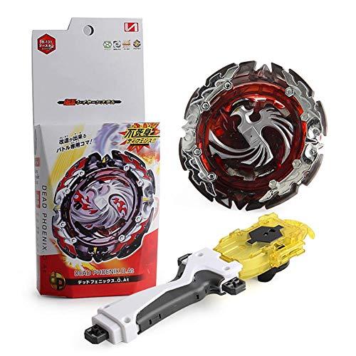 Lavendei 4D Fusion Modell Metall Masters Speed Kreisel | Kampfkreisel mit Launcher Kinder, Jugendliche und Erwachsene (B-131)