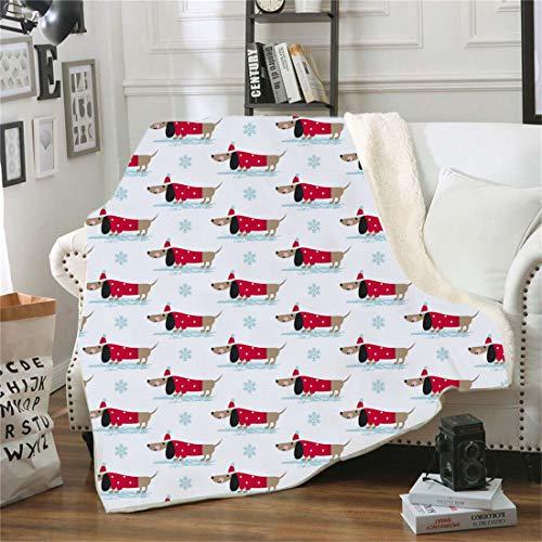 Samt Leichte Decke, Morbuy 3D Kuscheldecke Sofadecke Bettüberwurf Erhältlich Decke Tagesdecke Decke für Sofa & Bett Falten-widerstandsfähig Schmusedecke (150x130cm,Schneeflocke)