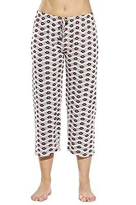 Just Love 6331-10025-3X Women Pajama Capri Pants/Sleepwear from