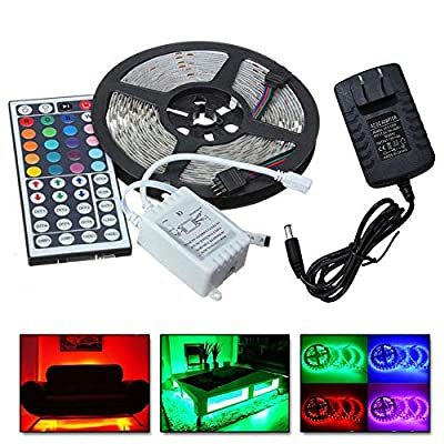 US Fast Shipment LED Strip Lights,5M RGB 5050 N...