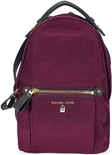 Nylon Backpack- Plum