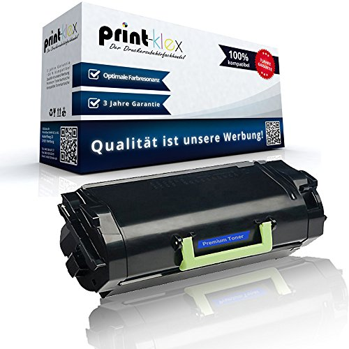Kompatible XL Tonerkartusche für ca. 25.000 Seiten für Lexmark MS810de MS810dn MS810dtn MS810n MS811dn MS811dtn MS811n MS812de MS812dn MS812dtn Schwarz K