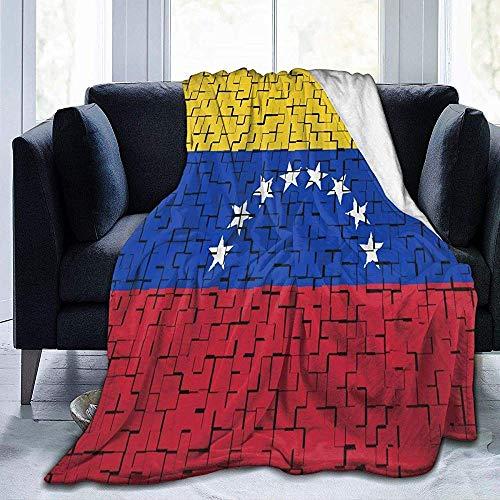 Bandera de Venezuela Manta de Rompecabezas Manta de Tiro cálido Manta de Regazo Manta de sofá Manta de Sherpa