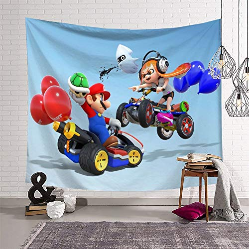 Home Decoration Tapestry Super Mario for Walls Tablecloths Tapestry (180x230cm)