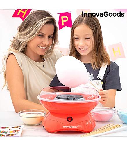 InnovaGoods - Máquina de Algodón de Azúcar SweetyCloud