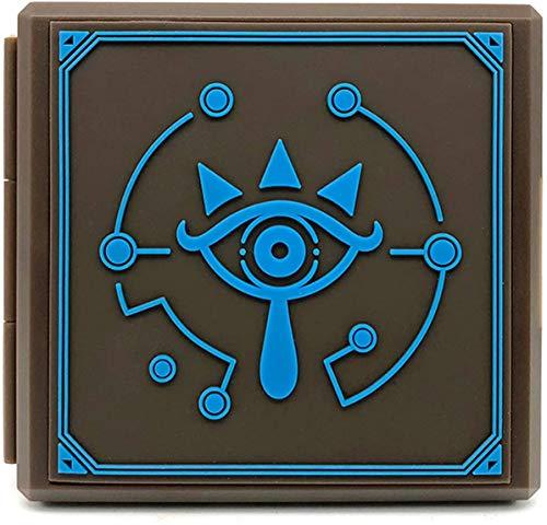 Adventure Games - Sheikah, Zelda, Breath of the Wild - Premium Game Card Case - Nintendo Switch